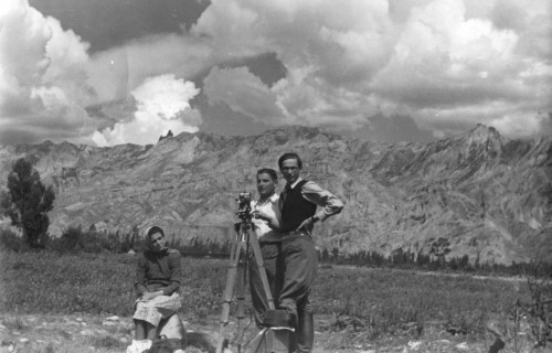 Paul Weidlinger, Istvan Hass & unknown women 1940, Bolivia