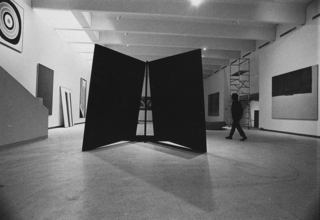 1970s gallery installation