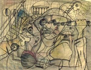 Untitled Sketch, Paul Weidlinger - 1930s