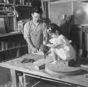 George and Mira Nakashima, around 1949
