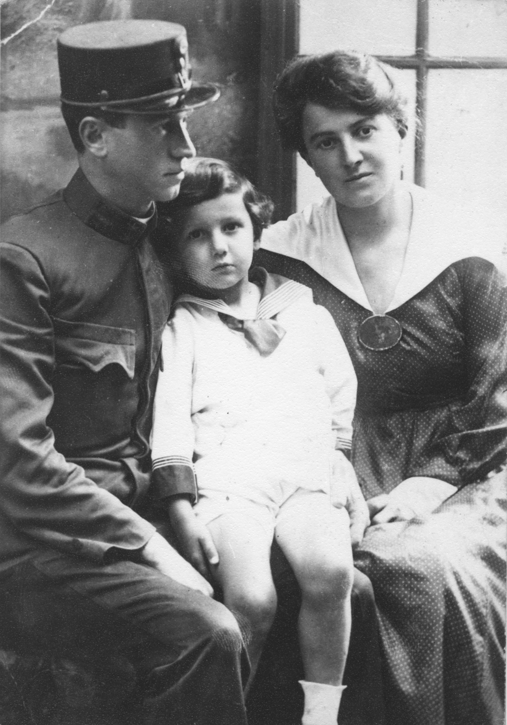 1918-Paul, mother&father-sm