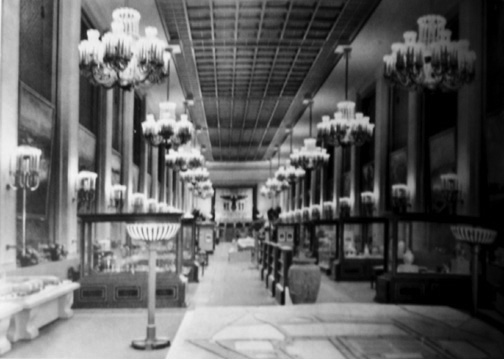 Germn Pavilion interior