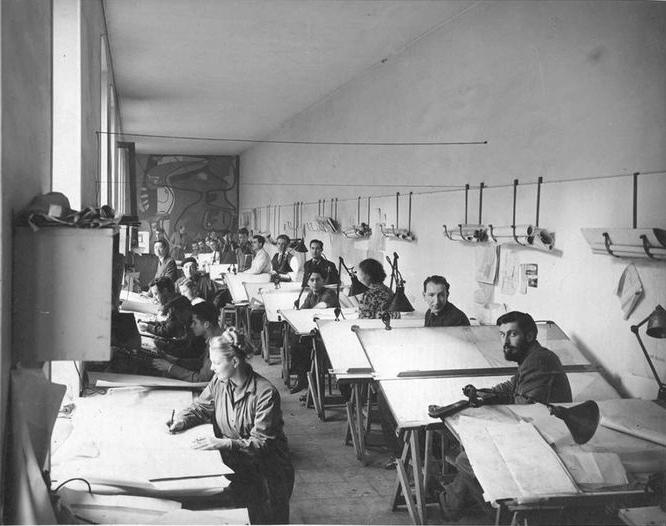 Le Corbusier's atelier at 35 rue Sevres