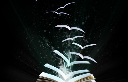 Magical world of reading                           (A Lobke Peers)
