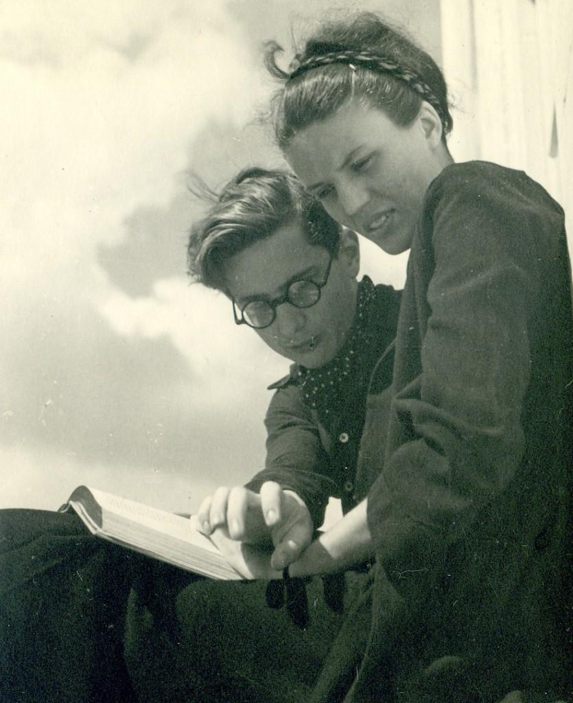 Paul Weidlinger and Madeleine Friedli, Zurich 1938