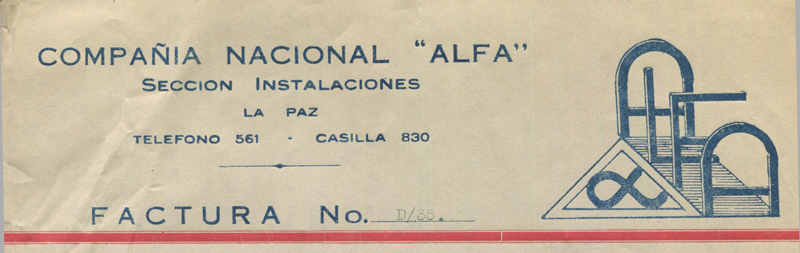 1940-41-Alpha Company Invoices 2
