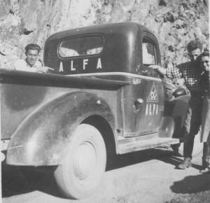 Alfa Truck from rear